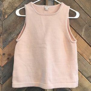 J Crew blush sweater